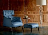Leather footstool ARCHIBALD | Footstool - Poltrona Frau