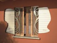 Subframe with double doors DOUBLE DOUBLETRACK - PROTEK®