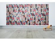 Acoustic Wood Wool Tiles BAUX ACOUSTIC TILES PARALLELOGRAM - BAUX