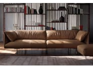Leather footstool JOHN-JOHN   Footstool - Poltrona Frau