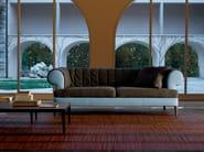 2 seater fabric sofa MANTO' | Fabric sofa - Poltrona Frau