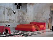 Fabric double bed JEUNE | Double bed - Twils