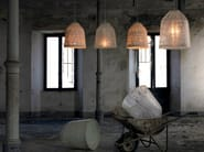 Cocoon resin pendant lamp BLACKOUT | Pendant lamp - Karman