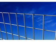 Electrically welded mesh Fence EXECUTIVE ZINC - Siderurgica Ferro Bulloni