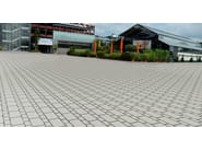 Vehicular outdoor floor tiles XLOAD® - FERRARI BK