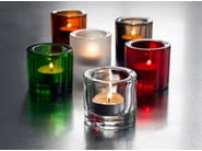Stained glass candle holder KIVI | Stained glass candle holder - iittala