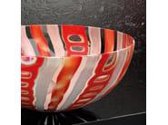 Countertop round Murano glass washbasin LAGUNA VINTAGE - Glass Design