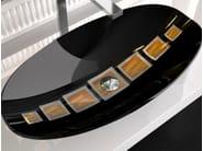 Countertop Murano glass washbasin GONDOLA - Glass Design