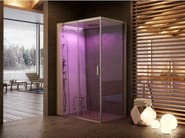 Multifunction crystal steam shower cabin CLOUD 140 - Jacuzzi Europe
