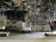 Fire retardant jacquard upholstery fabric NUITS BLANCHES - Élitis