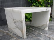 Backless marble bench seating SIMPLE BENCHES - FRANCHI UMBERTO MARMI