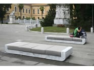 Backless marble bench seating SOFA 00 - FRANCHI UMBERTO MARMI
