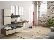 Sectional wall-mounted vanity unit FREEDOM 18 - LEGNOBAGNO