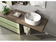 Sectional single vanity unit FREEDOM 19 - LEGNOBAGNO
