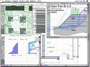Processing geotechnical, penetrometer test GEO-TEC - INTERSTUDIO