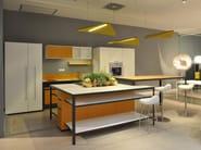 Linear kitchen MORE KITCHEN - ESTEL GROUP