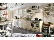 Wooden kitchen with island EVERY DAY | Kitchen - Callesella Arredamenti S.r.l.
