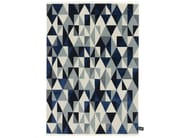 Rectangular rug with geometric shapes DIAMOND SOIE - cc-tapis ®