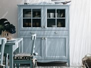Wooden highboard with doors EVERY DAY | Highboard - Callesella Arredamenti S.r.l.
