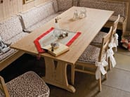 Rectangular wooden kitchen table EVERY DAY | Table - Callesella Arredamenti S.r.l.