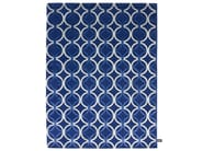 Rectangular rug with geometric shapes MESH - cc-tapis ®