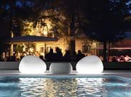 Garden armchair Polyethylene GUMBALL ARMCHAIR LIGHT - PLUST Collection by euro3plast