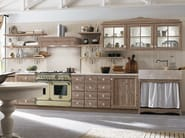 Linear wooden kitchen EVERY DAY | Linear kitchen - Callesella Arredamenti S.r.l.
