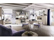 Linear wooden kitchen EVERY DAY | Kitchen - Callesella Arredamenti S.r.l.