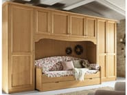 Country style wooden bedroom set EVERY DAY NIGHT | Composition 07 - Callesella Arredamenti S.r.l.