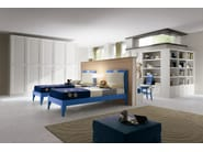 Wooden teenage bedroom EVERY DAY NIGHT | Composition 15 - Callesella Arredamenti S.r.l.