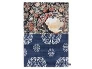 Contemporary style handmade rectangular rug CROSS(ME)NOT B - cc-tapis ®
