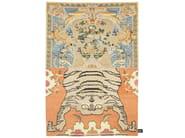 Handmade rectangular rug CROSS(ME)NOT A - cc-tapis ®