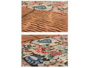 Handmade rectangular rug CROSS(ME)NOT C - cc-tapis ®
