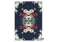 Handmade rectangular rug BAYOU - cc-tapis ®