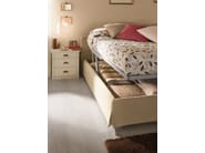 Wooden bedroom set ROMANTIC | Composition 04 - Callesella Arredamenti S.r.l.