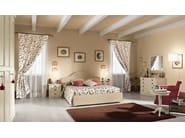 Wooden bedroom set ROMANTIC   Composition 04 - Callesella Arredamenti S.r.l.