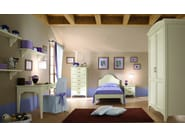Wooden bedroom set for boys/girls ROMANTIC | Composition 01 - Callesella Arredamenti S.r.l.