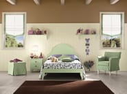 Wooden teenage bedroom ROMANTIC | Composition 10 - Callesella Arredamenti S.r.l.