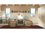 Wooden teenage bedroom ROMANTIC | Composition 11 - Callesella Arredamenti S.r.l.