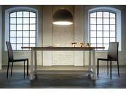 Rectangular wooden dining table NEW FRATINO - Callesella Arredamenti S.r.l.