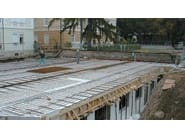 Self-supporting formwork panel for slab SOLAIO PLASTBAU® METAL - POLIESPANSO