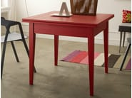 Extending square wooden table Square table - Callesella Arredamenti S.r.l.