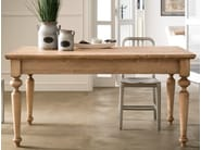Wooden dining table Rectangular table - Callesella Arredamenti S.r.l.