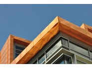 Metal sheet and panel for roof / Panel for facade TECU® Classic_coated - KME Architectural Solutions