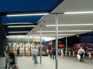 Ceiling mounted lighting profile for LED modules LED TUBE - iGuzzini Illuminazione