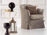 Fabric armchair TEA - Twils