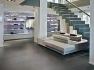 Porcelain stoneware flooring with stone effect BLUETECH - Ceramiche Refin