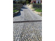Natural stone outdoor floor tiles PIETRA DI LUSERNA - PAVESMAC