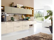 Lacquered fitted kitchen SWING | Fitted kitchen - Cucine Lube
