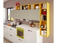 Lacquered fitted kitchen SWING | Kitchen - Cucine Lube